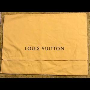 Authentic LOUIS VUITTON large dust cover